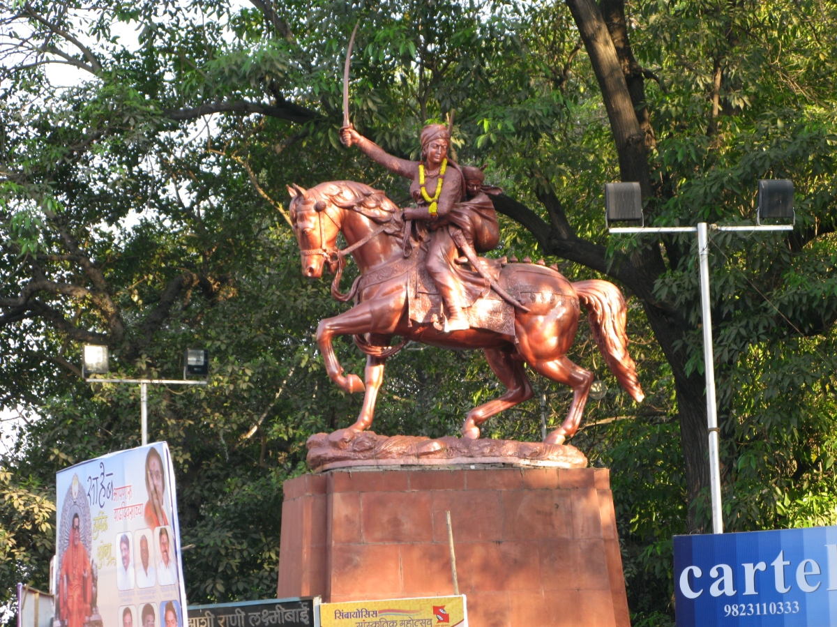 Zanshi_Rani_Statue_in_Pune