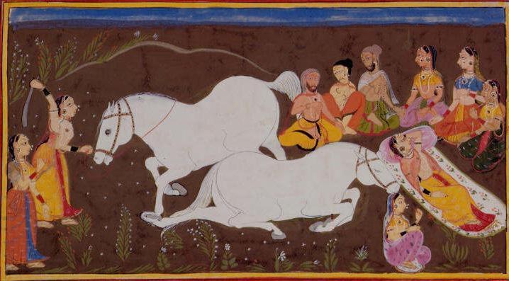 அஸ்வமேத யாகம் (https://wikimedia.org/)