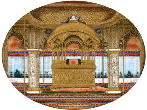 (Peacock Throne. https://en.wikipedia.org)